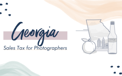 Georgia Sales Tax for Photographers