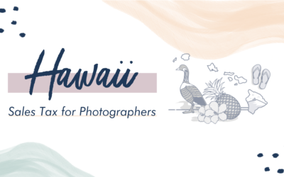 Hawaii Sales Tax for Photographers