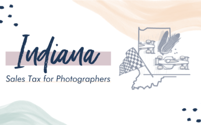 Indiana Sales Tax for Photographers