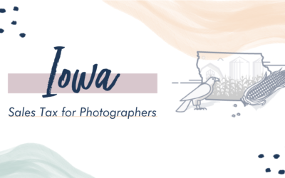 Iowa Sales Tax for Photographers
