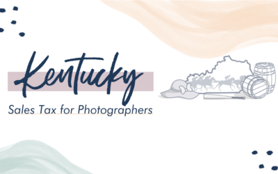 Kentucky Sales Tax for Photographers