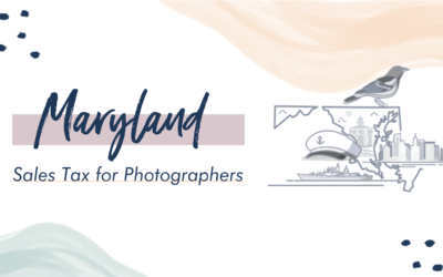 Maryland Sales Tax for Photographers