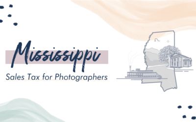 Mississippi Sales Tax for Photographers