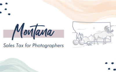 Montana Sales Tax for Photographers
