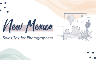 New Mexico Sales Tax for Photographers