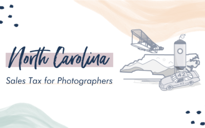 North Carolina Sales Tax for Photographers