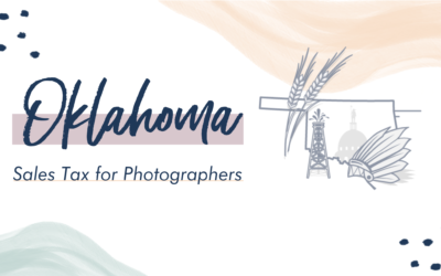 Oklahoma Sales Tax for Photographers