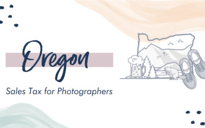 Oregon Sales Tax for Photographers