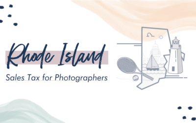 Rhode Island Sales Tax for Photographers