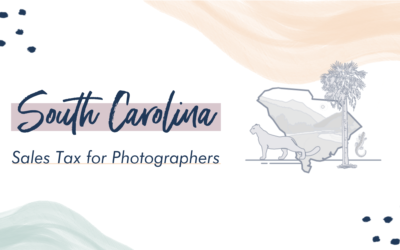 South Carolina Sales Tax for Photographers