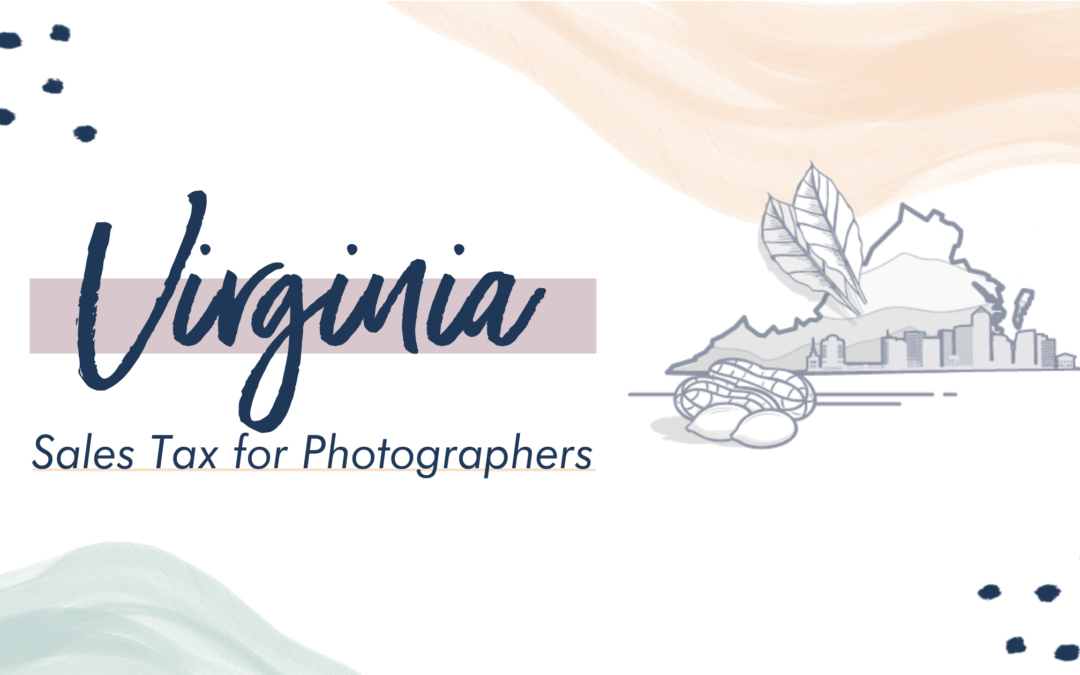 Virginia Sales Tax for Photographers