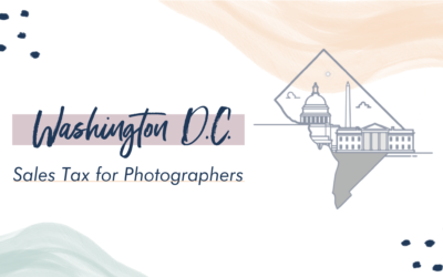 Washington DC Sales Tax for Photographers