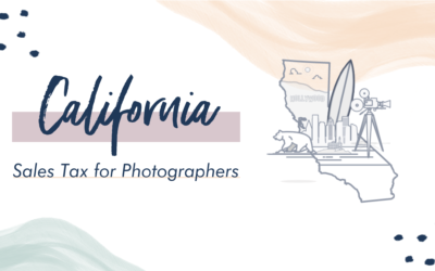California Sales Tax for Photographers