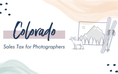 Colorado Sales Tax for Photographers